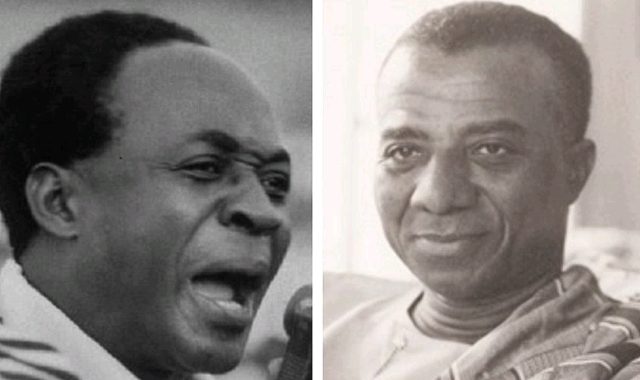 Kwame Nkrumah and Sylvanus Olympio