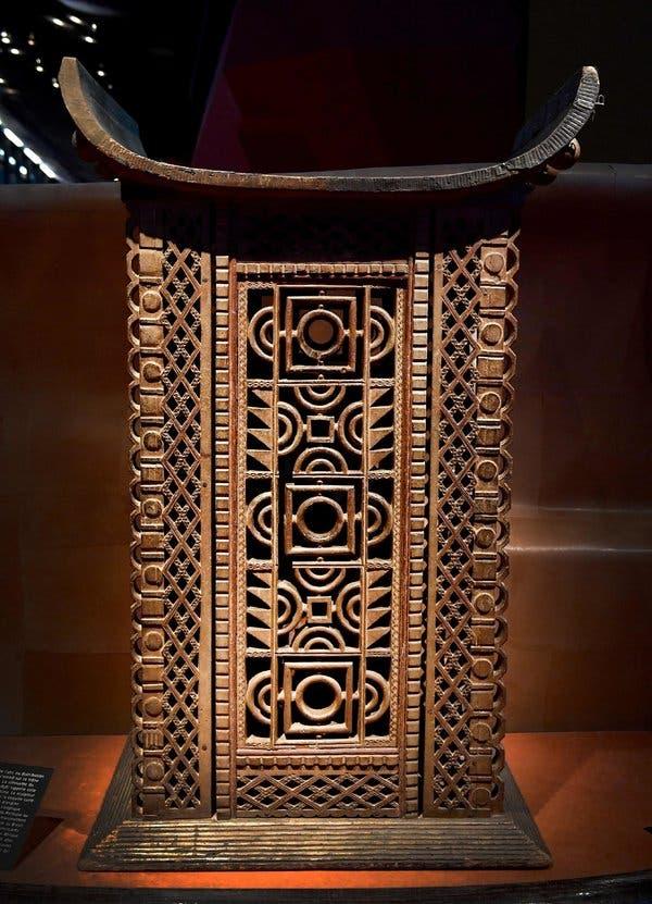 King Ghezo's throne from Abomey