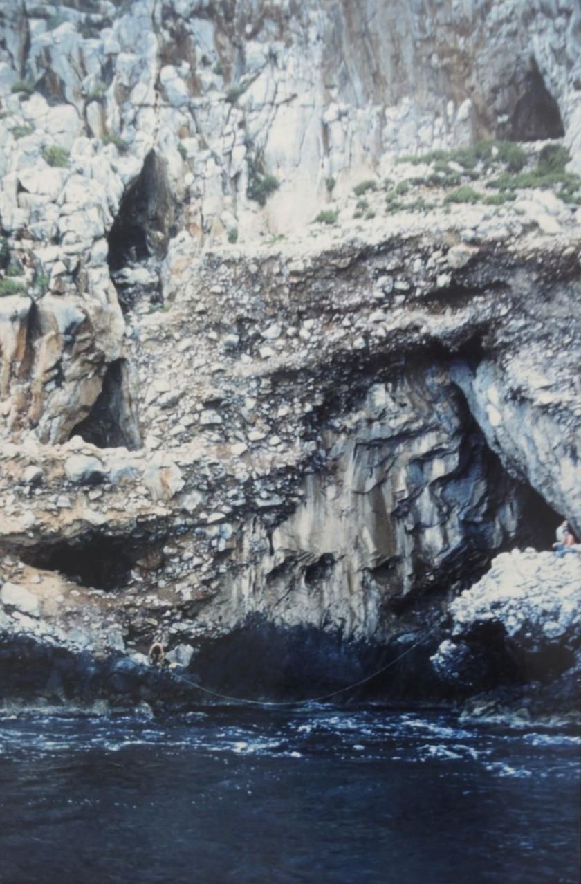 The Apidima Cave site in Greece