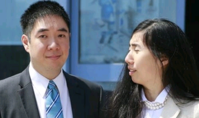 Matthew and Grace Huang