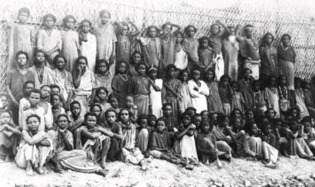 Oromo slave children