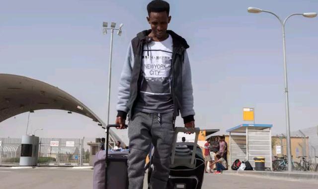 Eritrean migrant