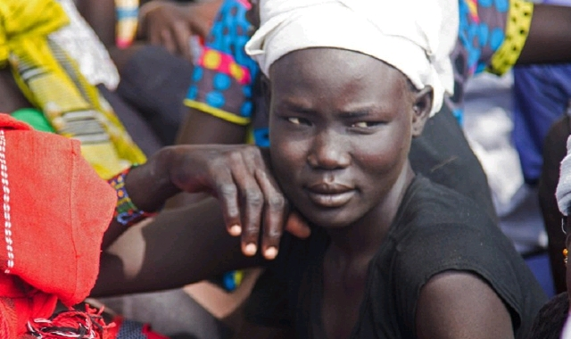 South Sudanese young lady