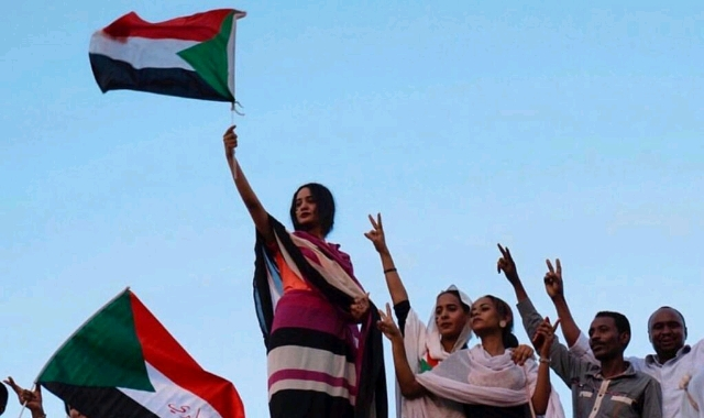 sudan women protests
