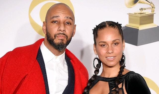 Alicia Keys and Kasseem Dean