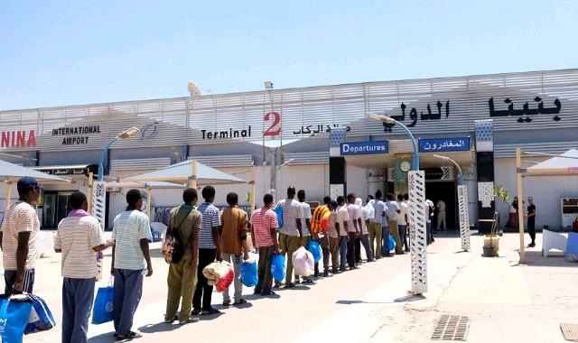 Benghazi's Benina airport