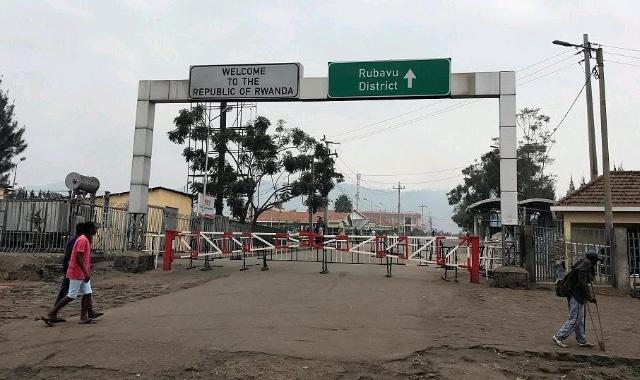 Rwanda-DRC border