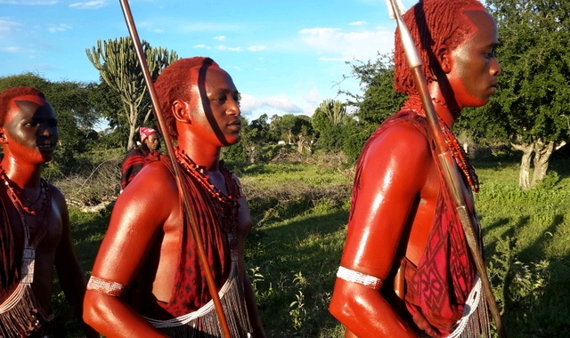 Massai and Samburu people