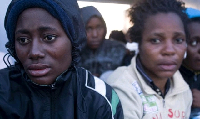 Female African migrants in Italy