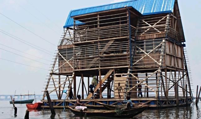 Makoko Village floating school
