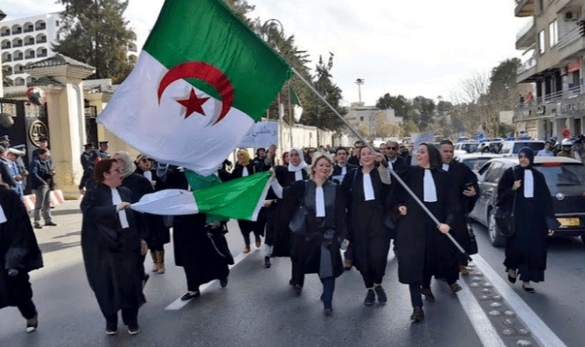 Algeria Judges
