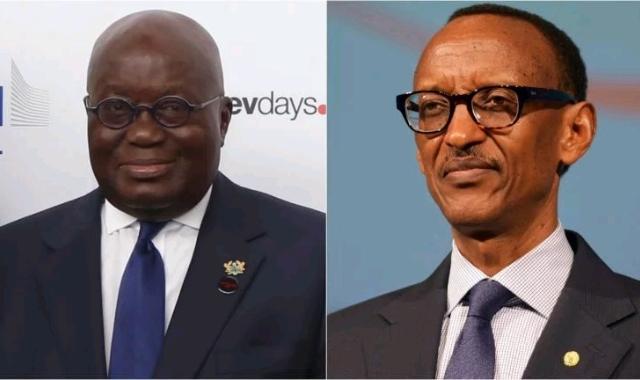 Nana Akufo-Addo and Paul Kagame