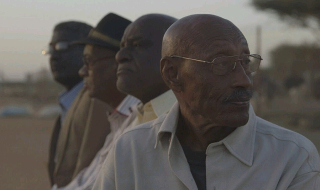 Retired film directors in Sudan