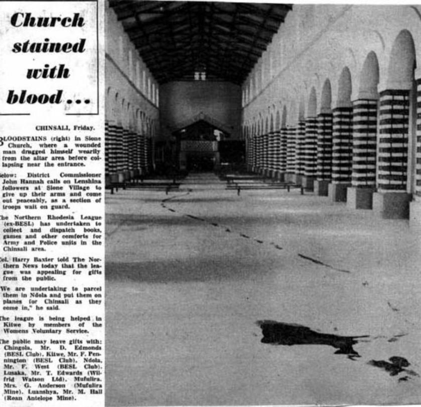 Alice Mulenga Lubusha Church