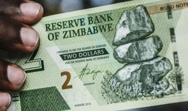 Zimbabwean two dollar