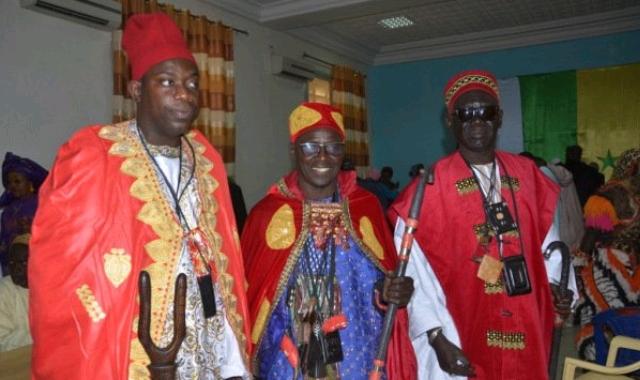The celebration of Princess Anta's return to Senegal in 2018