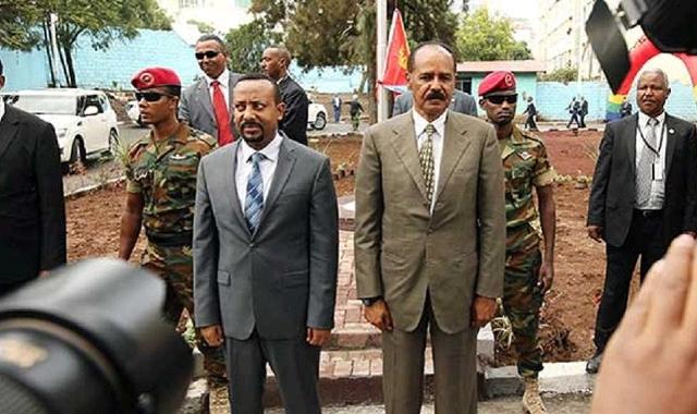 Isaias Afewerki and Abiy Ahmed