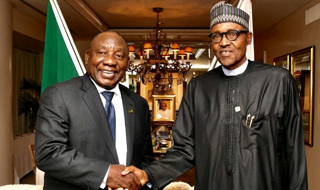 Buhari and Cyril