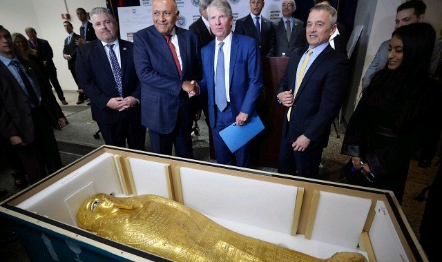 gold coffin of Nedjemankh