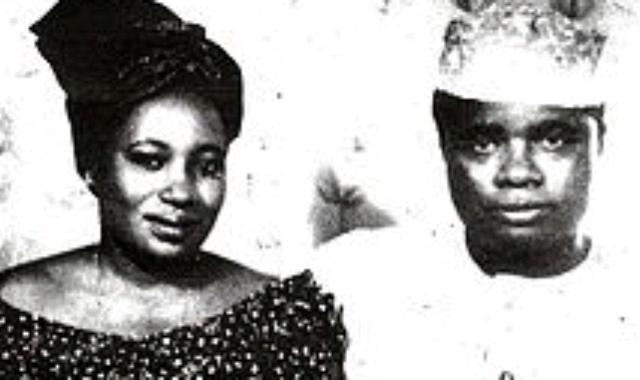 Jaja Wachuku and his wife