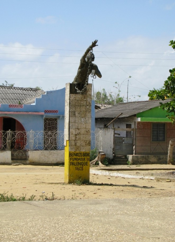 Statue of Statue of Benkos Bioho in Palenque