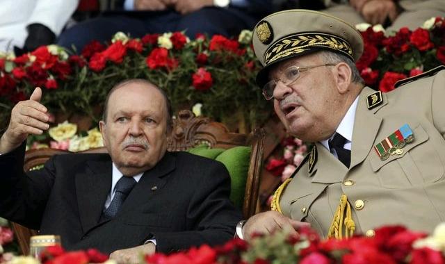 Ahmed Gaid Salah and Abdelaziz Bouteflika