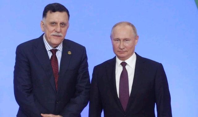 Fayez Al-Sirraj and Putin