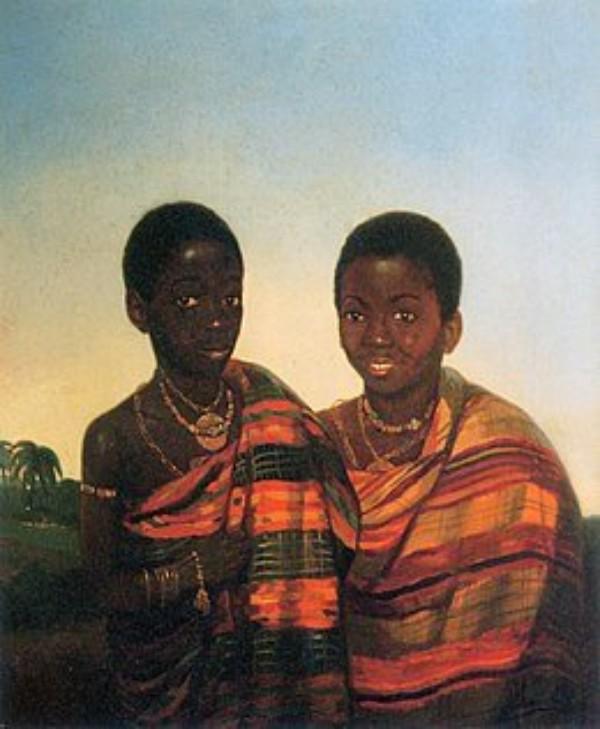 Aquasie Boachi and Kwame Poku