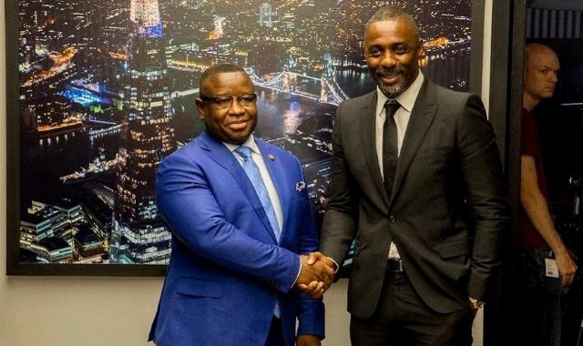Julius Bio and Idris Elba