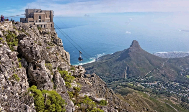 Spectacular view of the Table Mountain