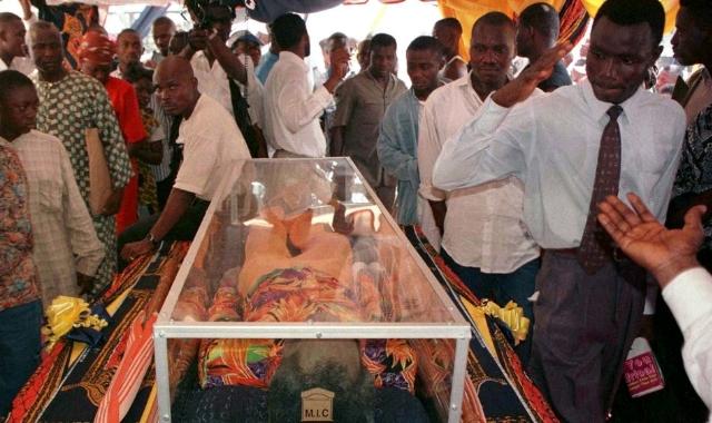 Fela Kuti Coffin